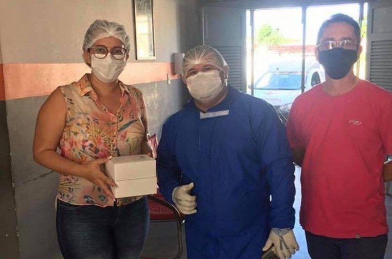 Gerência de Saúde realiza entrega de testes para Covid-19 no Vale do Piancó