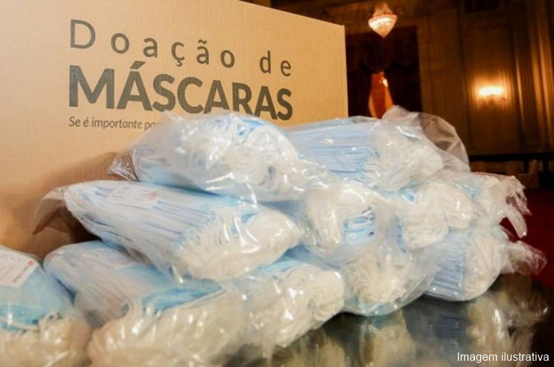 Máscaras serão distribuídas em filas de banco de Itaporanga e Piancó